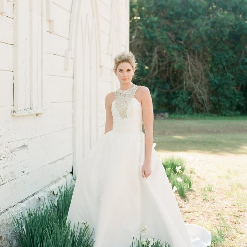 Kate McDonald Wedding Dress at Gilded Bridal in Raleigh, North Carolina