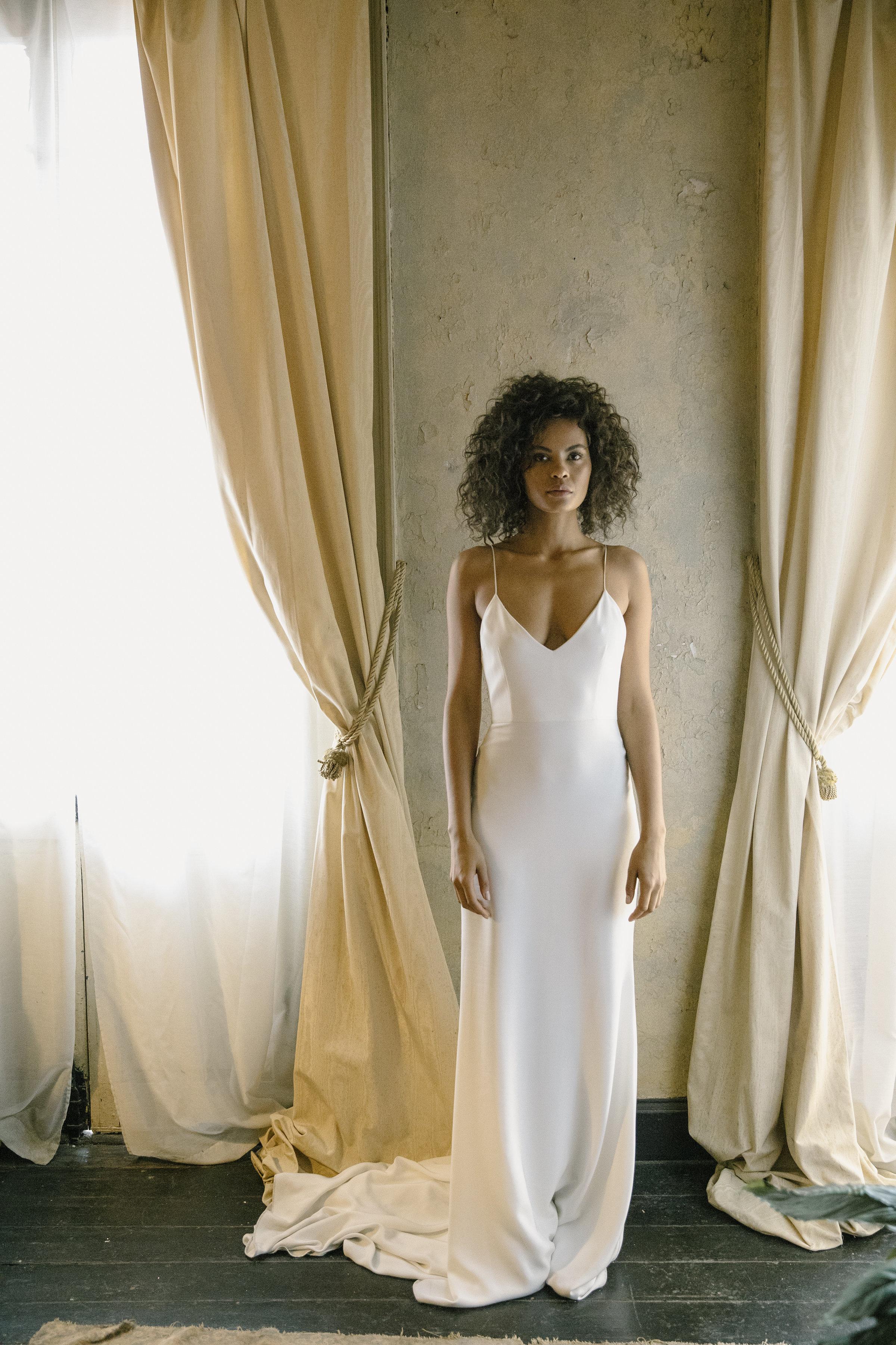 alexandra grecco gilded bridal wedding dress raleigh north ...