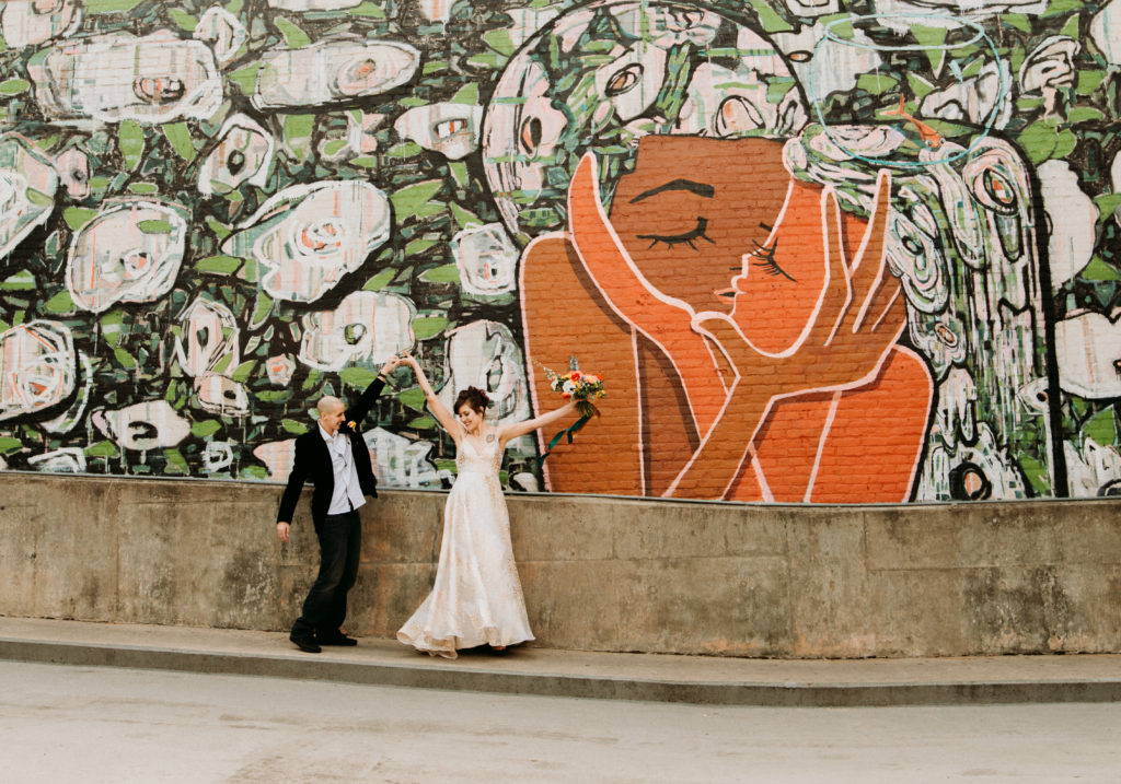 Raleigh mural inspiration gilded bridal for Mural inspiration